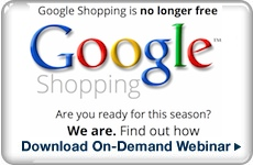 Webinar: Google PLA Shopping